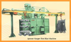 Spinner Blasting Machine