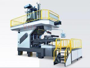 Automatic Dual Station Sand Uploading Molding Machine